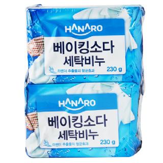 HANARO굿 베이킹소다 세탁비누, 230g x 4개