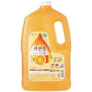 [전단상품]LG 자연퐁 주방세제 오렌지, 3.04L