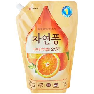 [전단상품]LG 생활건강 자연퐁 오렌지, 1.4L