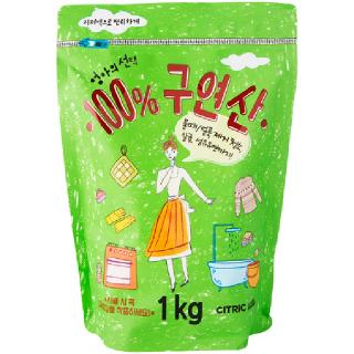 [전단상품]애경 엄마의 선택 100% 구연산, 1kg