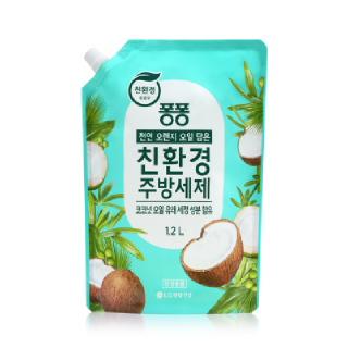 [전단상품]엘지 퐁퐁 친환경 주방세제 코코넛, 1.2L