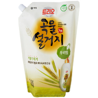 애경 트리오 곡물설거지(우리밀), 1.2L