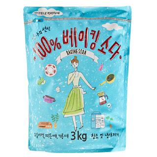 [전단상품]애경 엄마의선택 100% 베이킹소다, 3kg