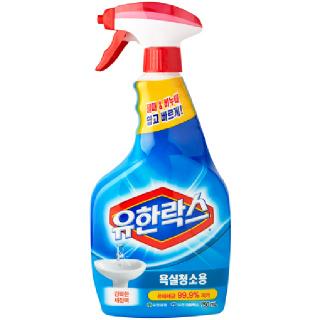 유한락스 욕실청소용 스프레이용, 750ml