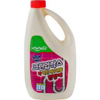 HANARO굿 크린업락스 배수관, 1.7L