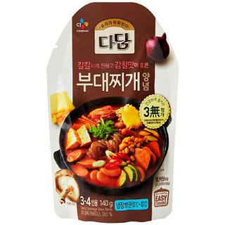 [전단상품]씨제이 다담 부대찌개양념, 140g(3~4인분)